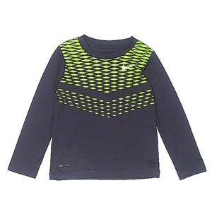 Nike Boys Dri Fit Long Sleeve Top Size 4